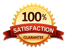 100% Satisfaction Garantueed
