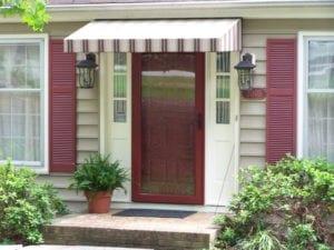 Les portes en fibre de verre