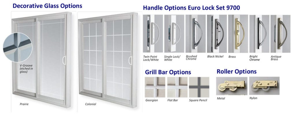 On Top Of That, We Offer Decorative Glass Option Which Can Make Your Sliding  Door Look Extra Special! From Prairie To Colonial And Many More Optionsu2026