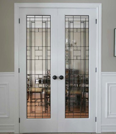 Lexington Patina Style French Doors