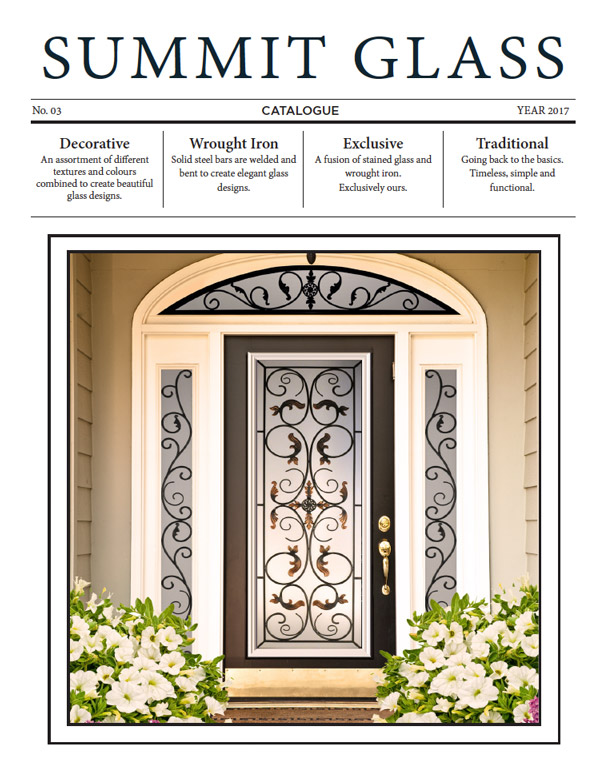 Front Wrought Iron Entrance Entry Door Novatech 2020 Montreal Factory Direct Doors